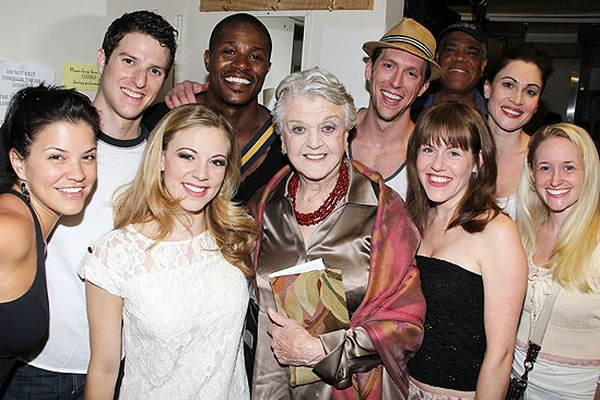 Angela Lansbury and More at <i>Follies</i> - <i>Follies</i> actors – Angela Lansbury
