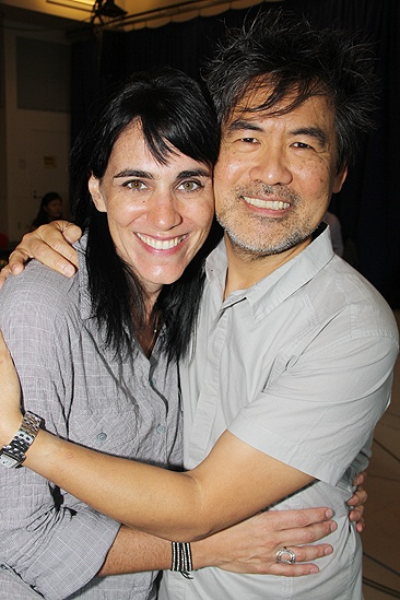 Chinglish Meet and Greet  Leigh Silverman  David Henry Hwang