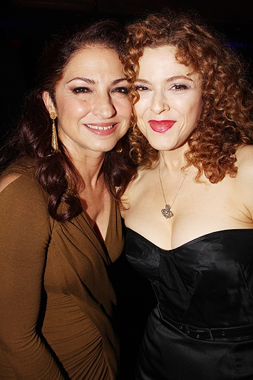 <i>Follies</i> opening night – Gloria Estefan – Bernadette Peters
