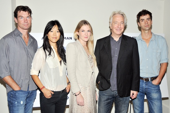 Seminar Meet and Greet – Jerry O'Connell – Hettienne Park – Lily Rabe – Alan Rickman – Hamish Linklater