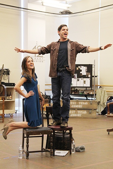 <i>Bonnie & Clyde</i> meet and greet – Jeremy Jordan - Laura Osnes