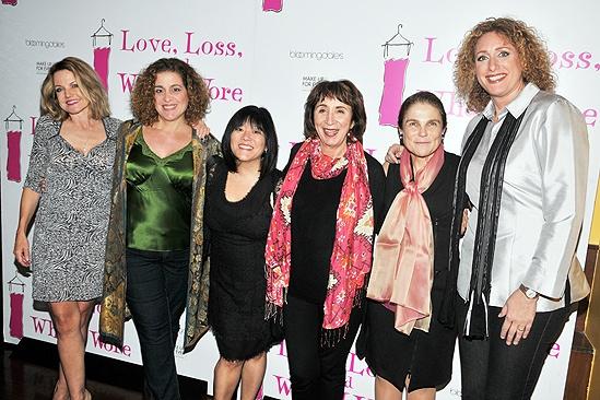 Love Loss anniversary - Alison Fraser - Mary Testa - Ann Harada - Maria Tucci - Tovah Feldshuh - Judy Gold