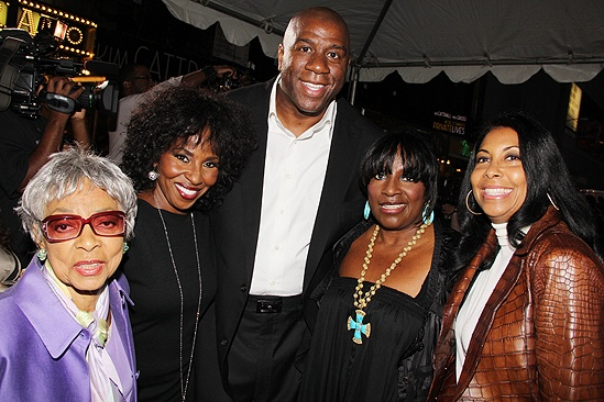 Mountaintop opens – Ruby Dee- Pauletta Washington – Magic Johnson – LaTanya Richardson Jackson - Cookie Kelly