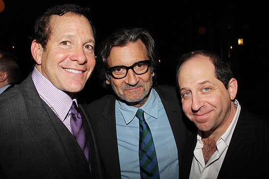 <i>Relatively Speaking</i> Opening Night -  Steve Guttenberg – Griffin Dunne – Jason Kravits