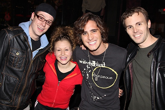 Diego Boneta at <i>Rock of Ages</i> - Cody Scott Lancaster – Josephine Rose Roberts – Diego Boneta – TKTK