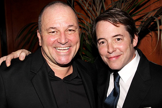 Chicago 15th Broadway Anniversary  Jim Borstelmann  Matthew Broderick