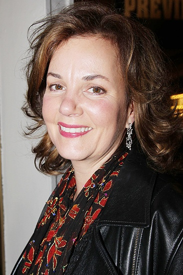 <i>Bonnie & Clyde</i> opening night – Margaret Colin