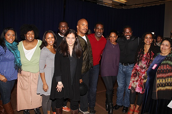 Porgy and Bess - NaTasha Yvette Williams, Norm Lewis, Audra McDonald, David Alan Grier, Joshua Henry, Diane Paulus, Suzan-Lori Parks and Diedre L. Murray