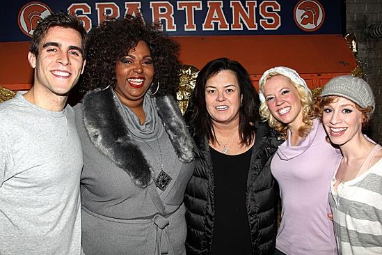 Rosie O'Donnell Visits Lysistrata Jones – Josh Segarra – Liz Mikel – Rosie O'Donnell – Patti Murin – Lindsay Nicole Chambers