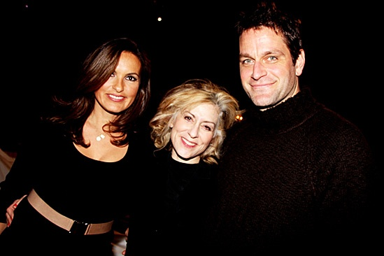 Other Desert Cities- Mariska Hargitay, Judith Light and Peter Hermann