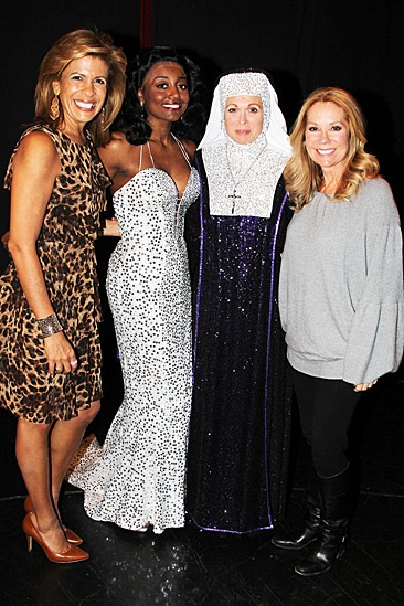 Kathie Lee and Hoda at Sister Act – Hoba Kotb – Patina Miller – Carolee Carmello – Kathie Lee Gifford
