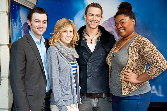 'Ghost' Casts Meet – Bryce Pinkham – Caissie Levy – Richard Fleeshman – Da'Vine Joy Randolph