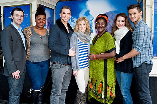'Ghost' Casts Meet – Bryce Pinkham – Da'Vine Joy Randolph - Richard Fleeshman - Caissie Levy – Sharon D Clarke – Siobhan Dillon – Mark Evans