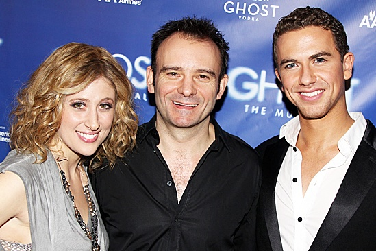 Ghost Light Sessions – Caissie Levy – Matthew Warchus – Richard Fleeshman