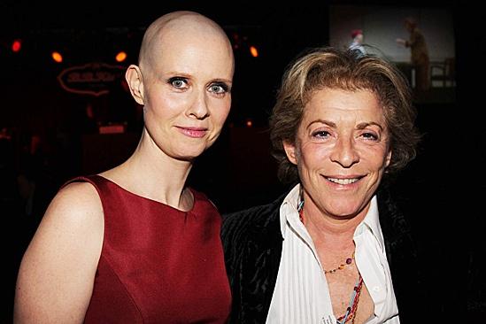 Cynthia Nixon Opening Night of Wit – Cynthia Nixon – Suzanne Bertish