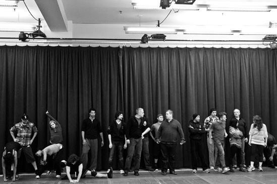In Rehearsal with Jesus Christ Superstar – Tom Hewitt, Bruce Dow, Jesus Christ Superstar enesmble