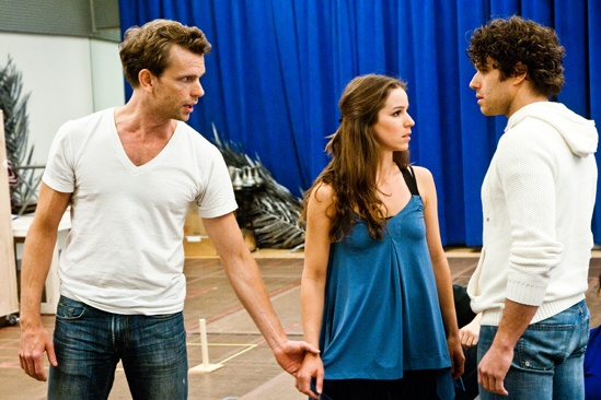 In Rehearsal with Jesus Christ Superstar – Paul Nolan – Chilina Kennedy – Josh Young