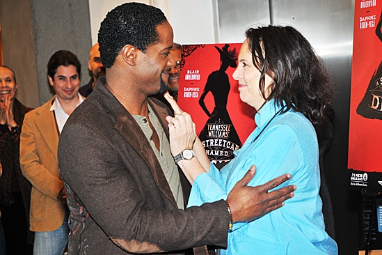 A Streetcar Named Desire Meet and Greet  Blair Underwood  Emily Mann