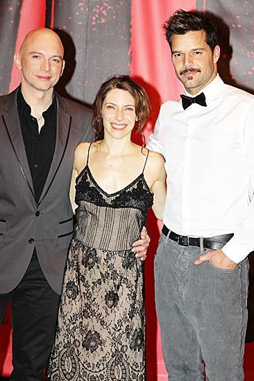 Evita- Michael Cerveris, Elena Roger and Ricky Martin