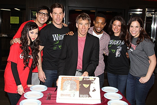 Stephen Schwartzs Birthday with Wicked and Godspell -  Anna Maria Perez de Tagle  George Salazar  Richard H. Blake  Stephen Schwartz  Wallace Smith  Jackie Burns  Lindsay Mendez