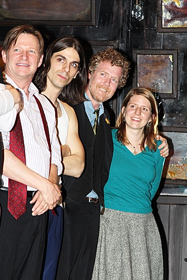 Once opening night – Andy Taylor – Lucas Papaelias – Glen Hansard – Marketa Irglova
