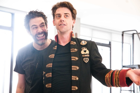 Peter and the Starcatcher Rehearsal – Kevin Del Aguila – Adam Chanler-Berat