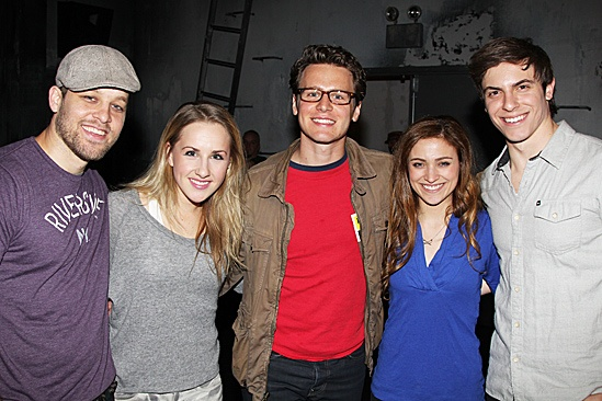 Carrie - Jonathan Groff, Ben Thompson, Jeanna de Waal, Christy Altomare and Derek Klena