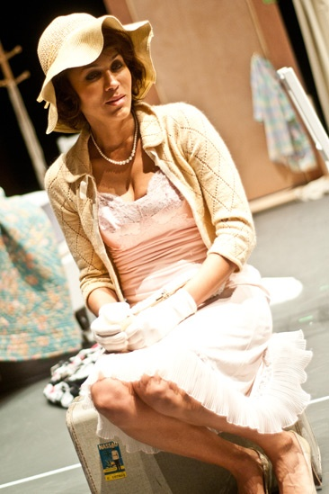 Streetcar Named Desire rehearsal – Nicole Ari Parker