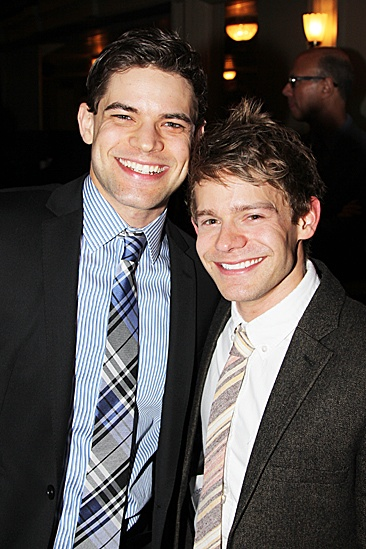 Newsies – Opening Night – Jeremy Jordan – Andrew Keenan-Bolger