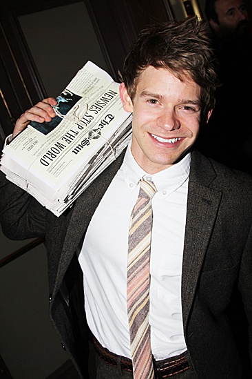 Newsies – Opening Night – Andrew Keenan-Bolger