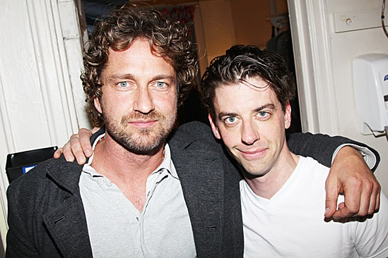 Gerard Butler at Starcatcher  Gerard Butler  Christian Borle 