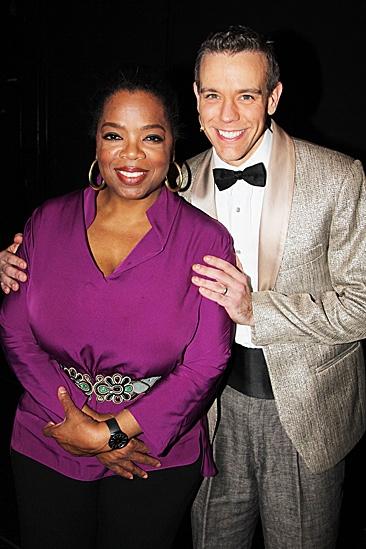 Oprah Visits Memphis – Oprah Winfrey - Adam Pascal