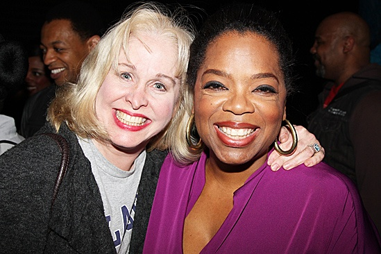 Oprah Visits Memphis  Oprah Winfrey  Nancy Opel