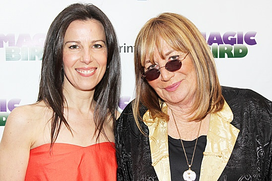 Magic.Bird Opening Night  Fran Kirmser  Penny Marshall