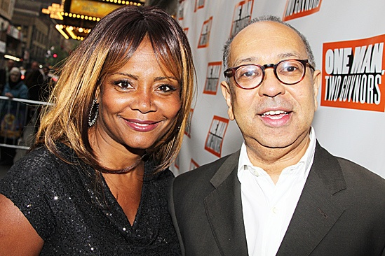 One Man, Two Guvnors opening night – Tonya Pinkins – George C. Wolfe