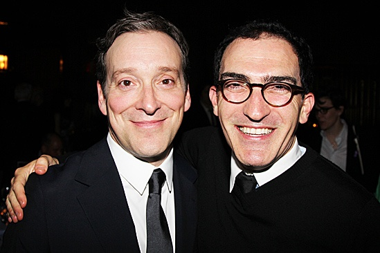 Clybourne Park Opening Night  Jeremy Shamos  Patrick Fischler 