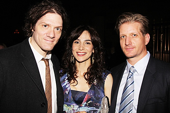 Clybourne Park Opening Night  Adam Rapp  Annie Parisse  Paul Sparks
