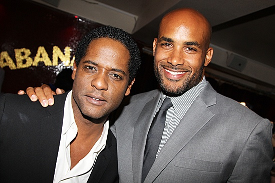 A Streetcar Named Desire opening night – Blair Underwood – Boris Kodjoe