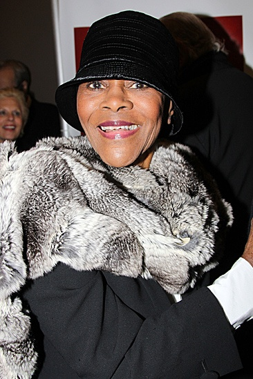 A Streetcar Named Desire opening night – Cicely Tyson