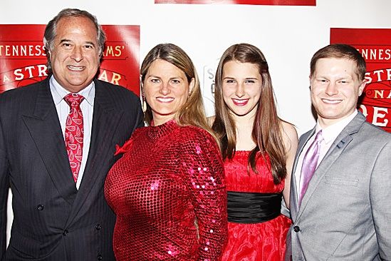 A Streetcar Named Desire opening night – Stewart F. Lane – Bonnie Comley - family