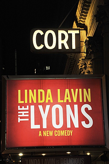 Lyons Opening- Cort Theatre