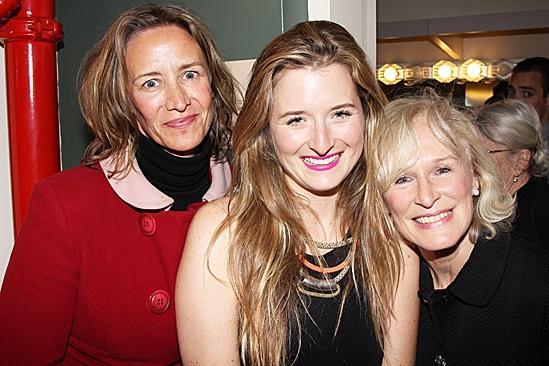 The Columnist Opening Night – Janet McTeer - Grace Gummer – Glenn Close