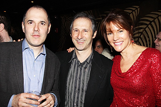 The Columnist Opening Night – David Auburn – Richard Topol – Carolyn McCormick