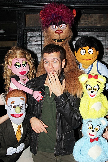 Perez Hilton Broadway Baby  Perez Hilton - Puppets