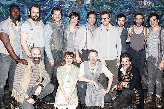 Perez Hilton Broadway Baby  Perez Hilton  Peter and the Starcatcher Cast