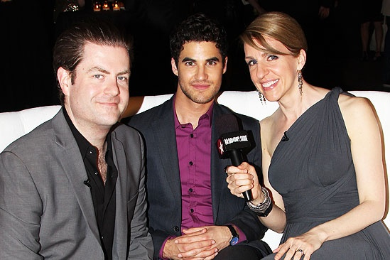 Audience Choice Awards- Paul Wontorek- Darren Criss- Susan Blackwell
