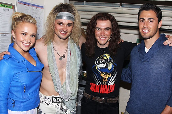 Rock of Ages  Tim Tebow Visit  Hayden Panettiere  Jeremy Woodard  Justin Matthew Sargent  Scotty McKnight
