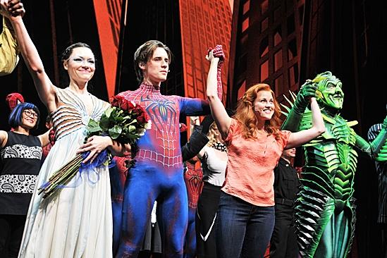 Joshua Ledet Visits Spider-Man – Katrina Lenk – Reeve Carney – Rebecca Faulkenberry – Patrick Page