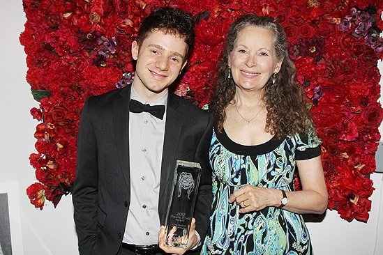 Theatre World Awards- Chris Perfetti  Lizbeth MacKay