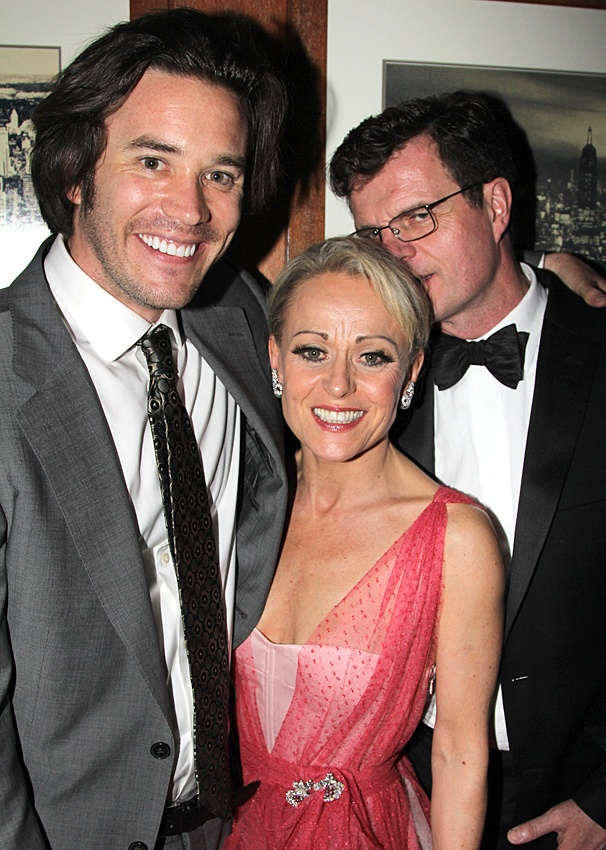 2012 Tony Awards – O&M After Party – Tom Pelphrey - Tracie Bennett – Michael Cumpsty